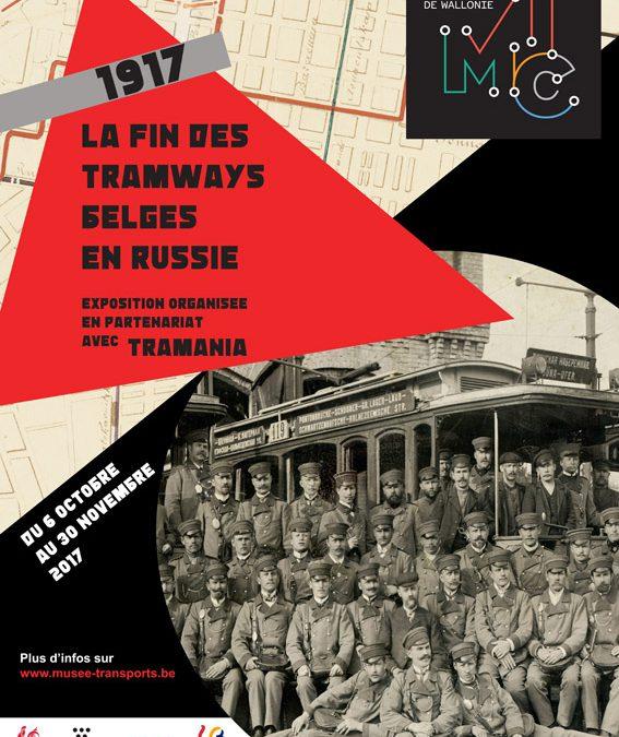 Exposition 1917 : la fin des tramways belges en Russie