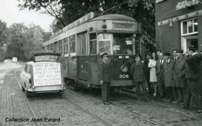 Il y a 50 ans : La fin des trams verts à Liège