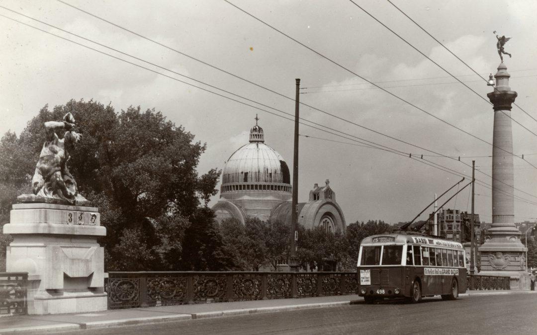 "Exposition ""Trolleybus hier et aujourd'hui"""