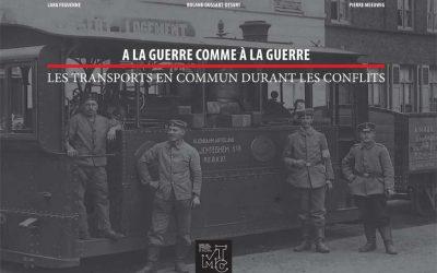 A la guerre comme à la guerre… Les transports en commun durant les conflits