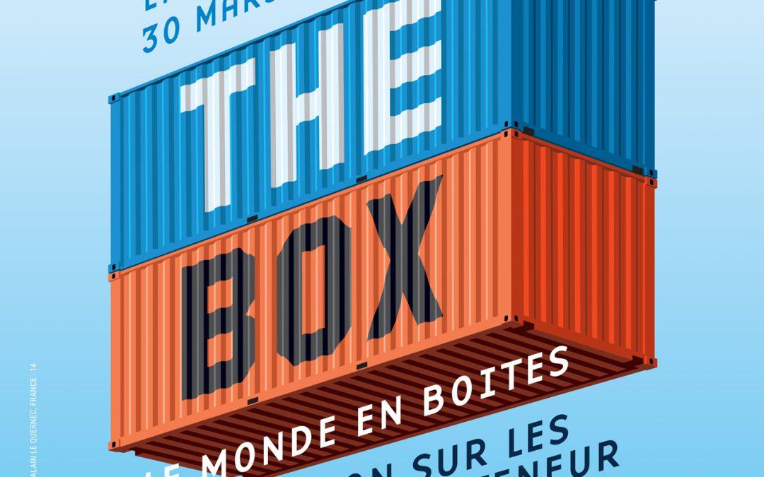 Exposition The Box, le monde en boîtes, en partenariat avec le Port Autonome de Liège