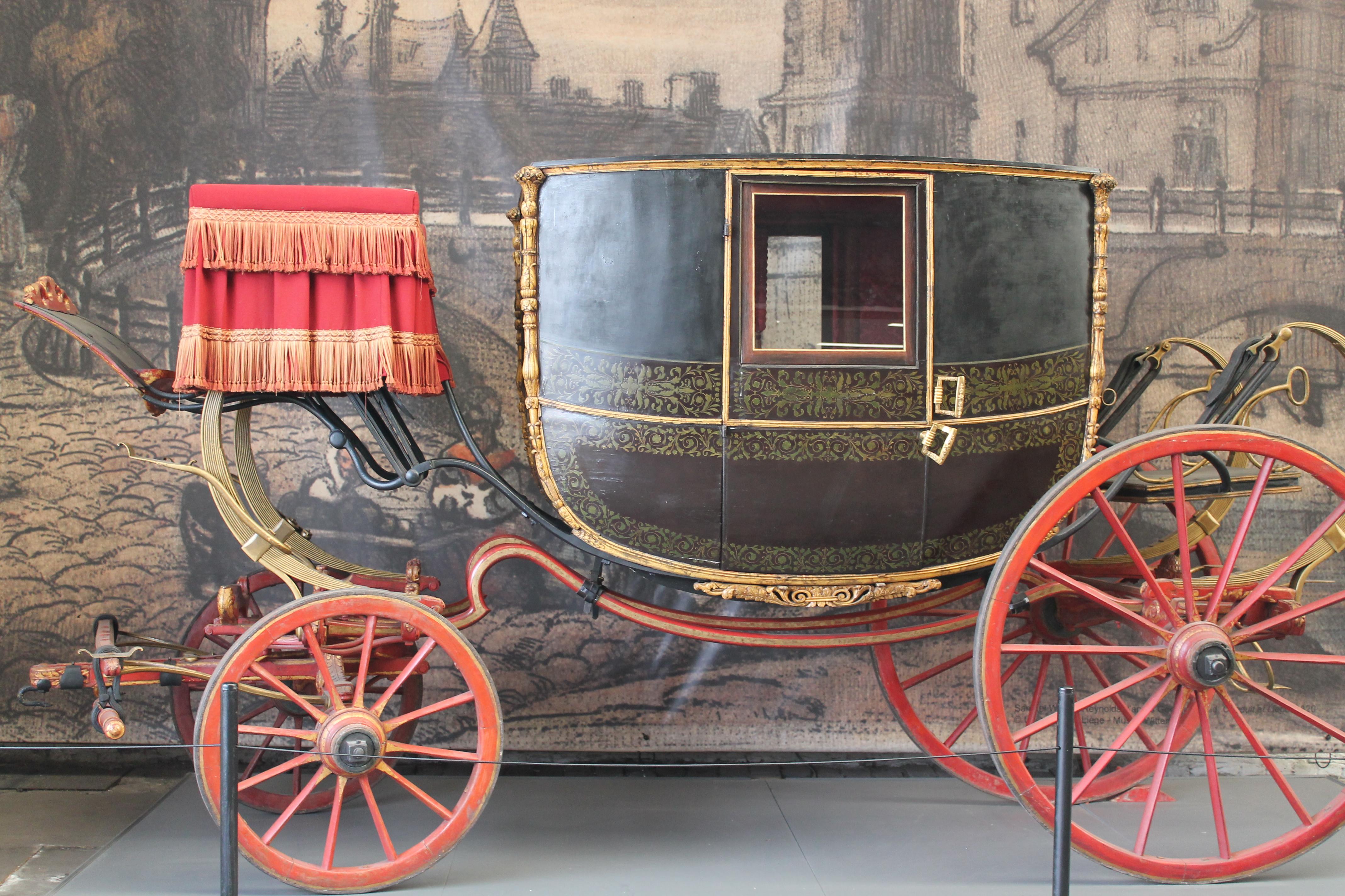 Berline de gala - Collections Province de Liège - Musée de la Vie wallonne