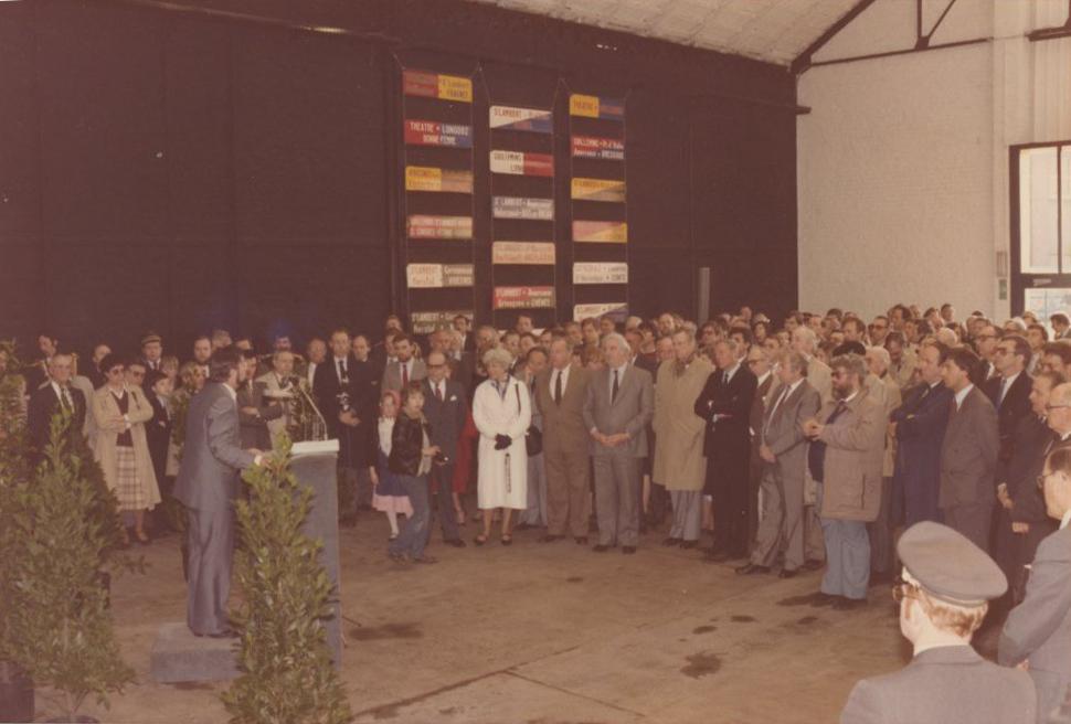 Inauguration du musée en 1985
